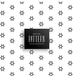 Subtle small stars pattern background vector