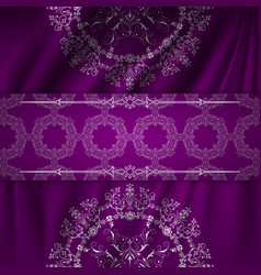 Wallpaper pattern background ornamental graphic vector