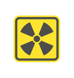 Yellow symbol flat icon for websites vector