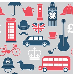 london pattern vector image