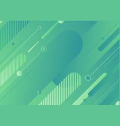 abstract modern green color diagonal geometric vector image