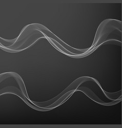 Abstract soft speed futuristic swoosh wave vector