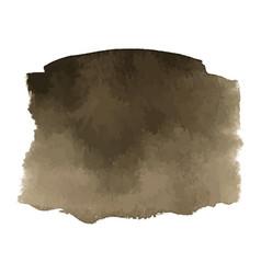 Coffee brown watercolor gradient background vector