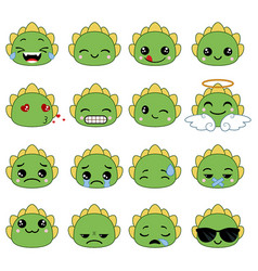Cute emoticons set cute emoticons set vector
