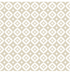 gold and white abstract diamond seamless pattern vector image