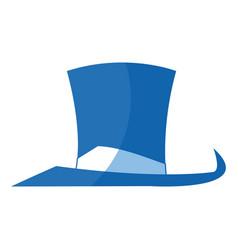 Hat accessory host fun fair elegant vector