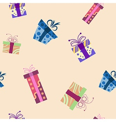 Presents pattern1 vector image