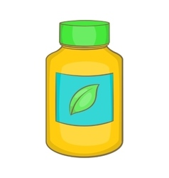 Supplement icon cartoon style vector
