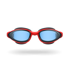glasses for swimming vector image vector image