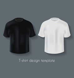 male t-shirts design template set vector image