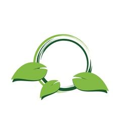 green environement concept design vector image vector image