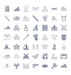 Ancient icons vector