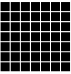 Black square tiles texture vector