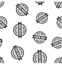 Flash sale rubber stamp seamless pattern vector