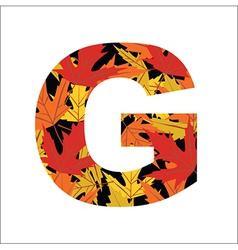 G Letter vector