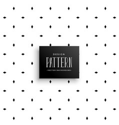 Minimal pattern background with small rhombus vector