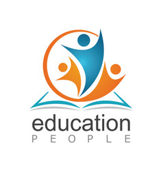 People education logo vector