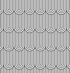 Striped flaked seamless pattern vector image