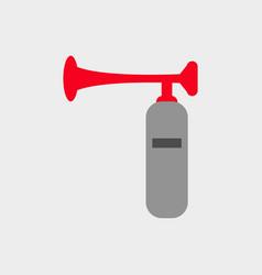 trumpet stadium icon vector image