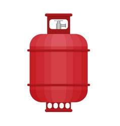 gas tank icon in flat style vector image vector image