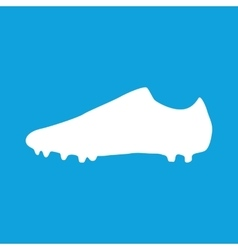 Football boots icon simple vector image
