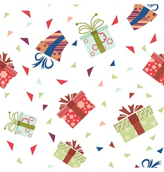 Presents pattern3 vector image vector image