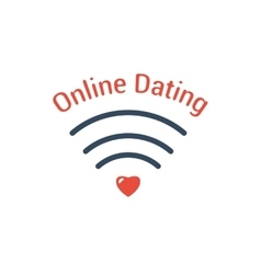 Symbol of Online Dating vector image