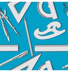 school supplies vector image