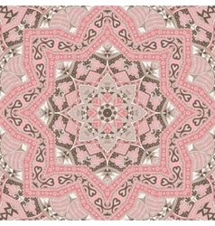 Abstract vintage ethnic tribal ornamental texture vector image