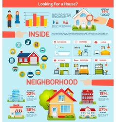 Building Infographics Set vector