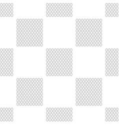 Chain fence seamless pattern on white background vector