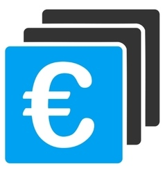 Euro Finances Icon vector