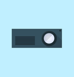 projector icon set of great flat icons use for vector image