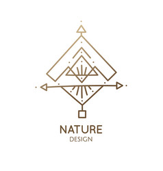 Sacred abstract nature vector