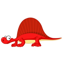 spinosaurus dinosaur vector image