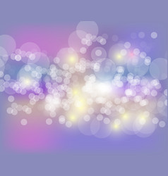 Abstract bokeh background festive defocused vector
