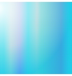 Blue digital square background vector image