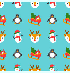 christmas seamless pattern theme for use as vector image