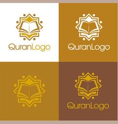 Quran logo vector