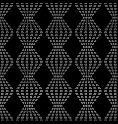 rhombus chaotic seamless pattern 6408 vector image