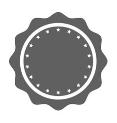 stamp stars vector image