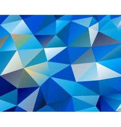 Triangle background Pattern of geometric shapes vector image