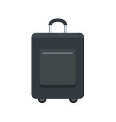 trip bag icon flat style vector image