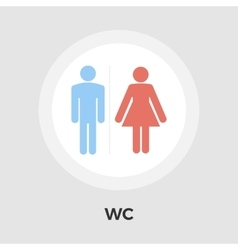 WC Icon vector