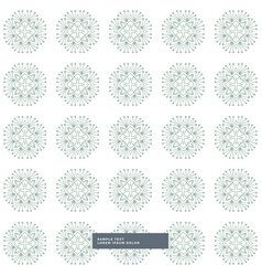 White background with abstract pattern shapes vector