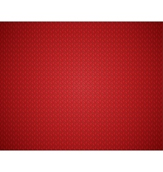 Christmas red background with knit texture vector image