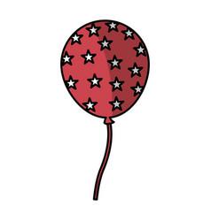 usa balloon air party vector image