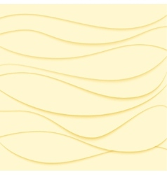 Abstract background Yellow waves vector image vector image