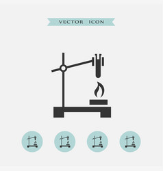 chemistry icon simple vector image
