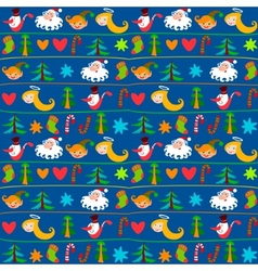 christmas background new years wallpapers wrapping vector image vector image